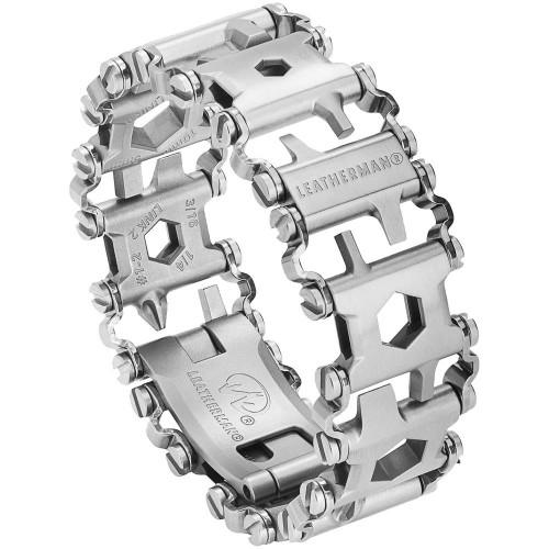 Мультитул-браслет Tread, серебристый