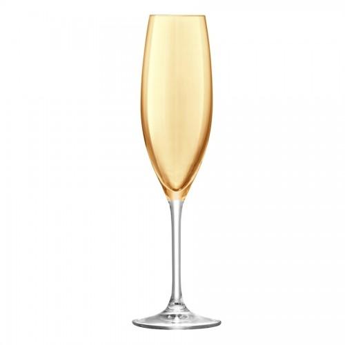 Набор бокалов для шампанского Polka Flute, металлик
