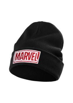 Шапка с вышивкой Marvel, черная