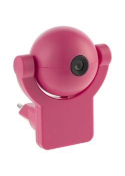 Проекционный светильник «Gauss Mood. Фея», настенный, розовый