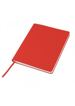 Бизнес-блокнот 'Cubi', 150*180 мм, красный, кремовый форзац, мягкая обложка, в линейку
