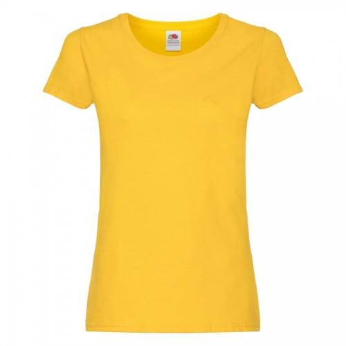 Футболка женская ORIGINAL T 145, желтый