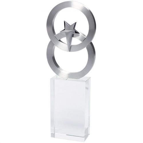 Стела 'Полярная звезда' в подарочной упаковке, серебристый