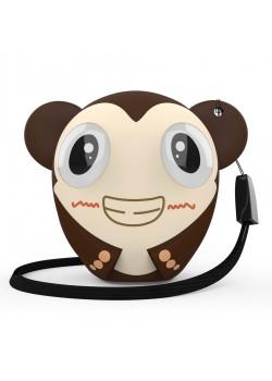 Беспроводная колонка Hiper ZOO Katy, Monkey, коричневый