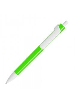 Ручка шариковая FORTE NEON, зеленый, белый
