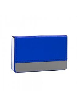 Визитница 'Горизонталь', синий
