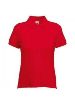 Поло женское POLO LADY-FIT 210, красный
