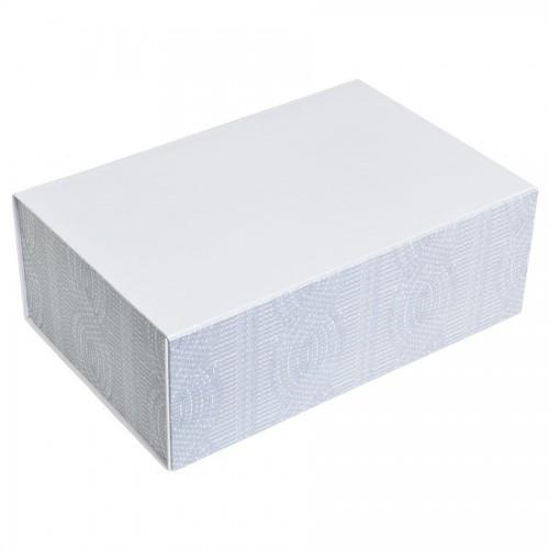 Упаковка подарочная, коробка 'Irish' складная, белый