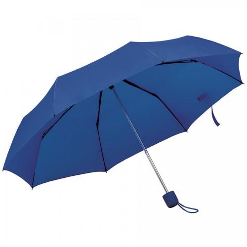 Зонт складной FOLDI, механический, темно-синий