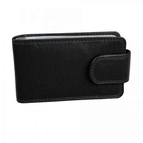 Футляр для кредитных/дисконтных карт 'Верона' в подарочной упаковке, черный