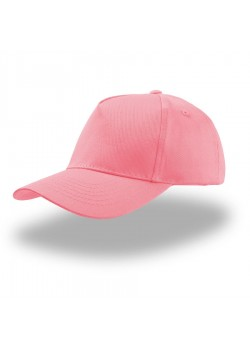 Бейсболка детская KID START FIVE, 5 клиньев, застежка на липучке, розовый