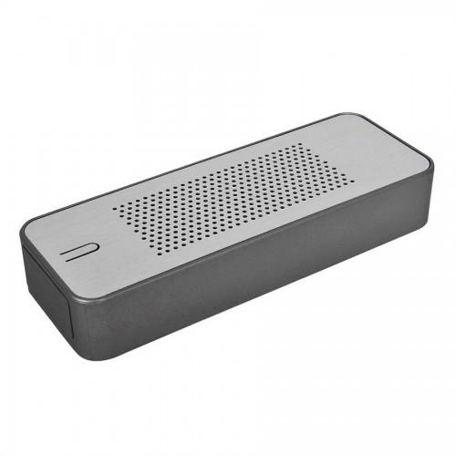Универсальное зарядное устройство c bluetooth-стереосистемой 'Music box' (4400мАh), серый