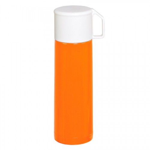 Термос 'GIORGIO'; 500 мл, оранжевый, белый