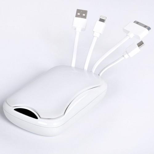 Универсальное зарядное устройство 'Easy Power' (4000 мАh), белый
