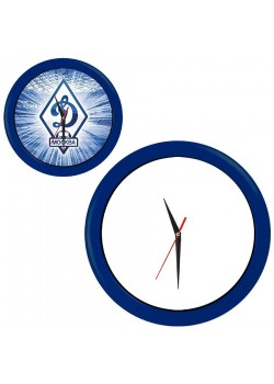Часы настенные 'ПРОМО' разборные, синий