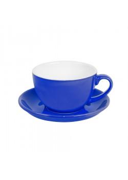 Чайная/кофейная пара CAPPUCCINO, синий