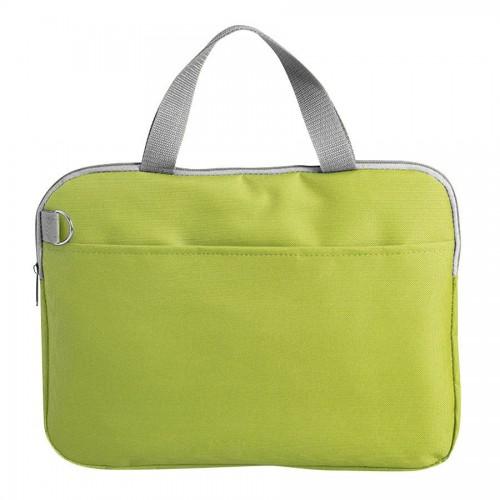 Конференц-сумка 'Тодес-2' отделением для ноутбука, зеленый