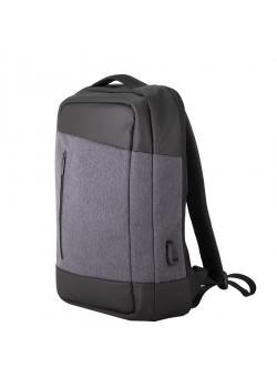 Рюкзак HEMMING, темно-серый, черный