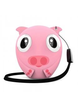 Беспроводная колонка HIPER ZOO Lily, Pig, розовый