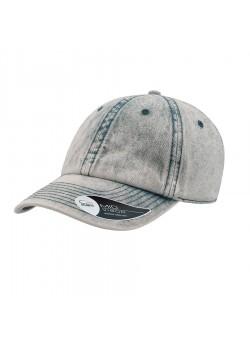 Бейсболка DAD HAT, 6 клиньев, металлическая застежка, голубой