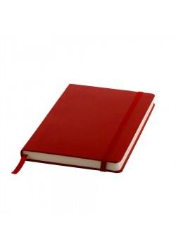 Ежедневник недатированный Ellie, А5, красный, кремовый блок, без обреза