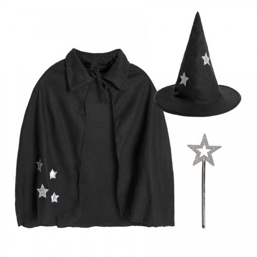Костюм карнавальный 'Волшебник' для корпоративных мероприятий, черный