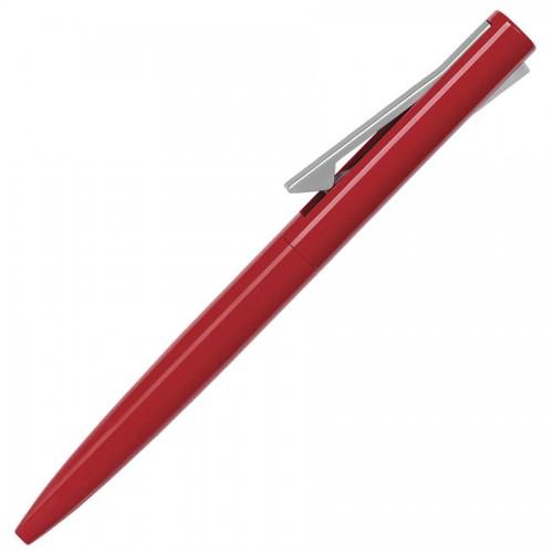 Ручка шариковая SAMURAI, красный, серый