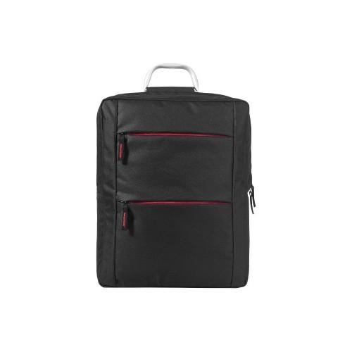 Рюкзак Boston для ноутбука 15,6, черный/красный