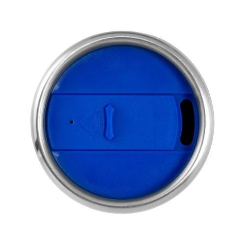 Термостакан Elwood c изоляцией, серебристый/синий