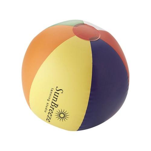 Мяч надувной пляжный Rainbow, многоцветный