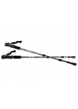 Палки телескопические для скандинавской ходьбы Nordic Style, черный