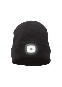 Лыжная шапка со светодиодом, черный