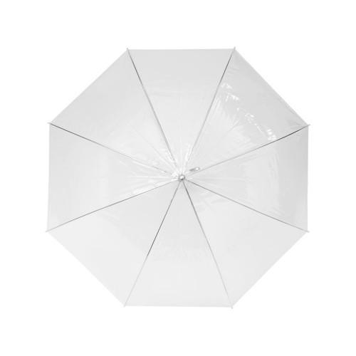Прозрачный зонт 23 полуавтомат, прозрачный