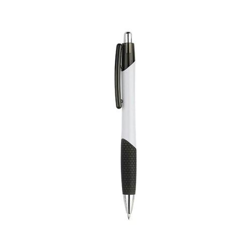 Ручка шариковая Мак-Кинли, белый/черный
