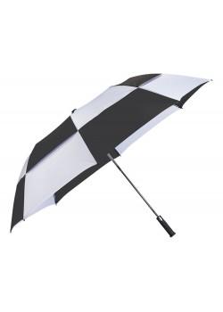 Зонт двухсекционный Norwich с автоматическим открытием, 30, черный
