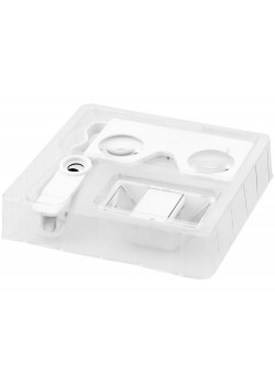 Очки виртуальной реальности с набором 3D линз, белый