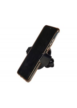 Автомобильный держатель с функцией беспроводной зарядки Stir, черный