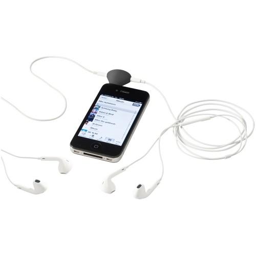 Музыкальный сплиттер-подставка для телефона Spartacus 2 в 1, черный
