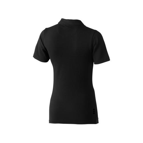 Рубашка поло Markham женская, антрацит/черный