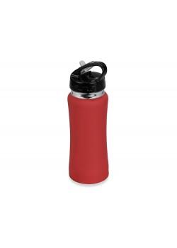 Бутылка спортивная Коста-Рика 600мл, красный