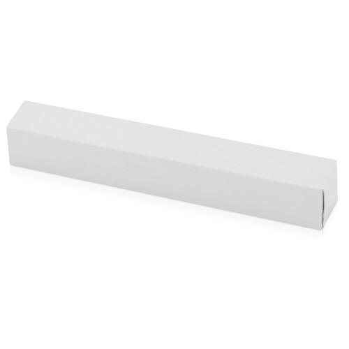 Тубус для 1 ручки Аяс, прозрачный/серебристый