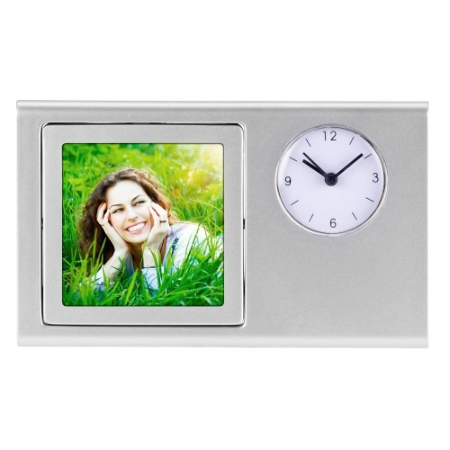 Часы Шербург, серебристый