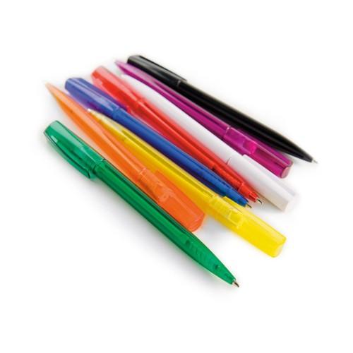 Ручка шариковая London, оранжевый, синие чернила