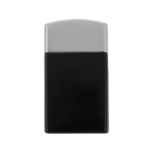 Набор Логистик: ручка шариковая, зажигалка, черный/серебристый