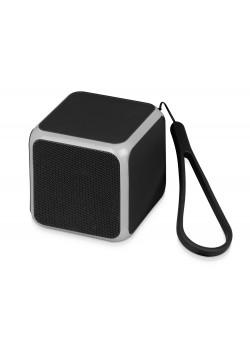 Портативная колонка Cube с подсветкой, черный