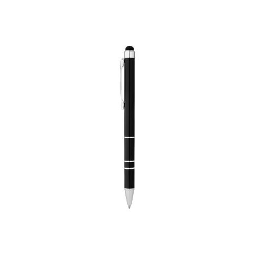 Ручка-стилус шариковая Charleston, черный, черные чернила