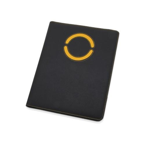 Папка для документов Эдингбург, черный/желтый