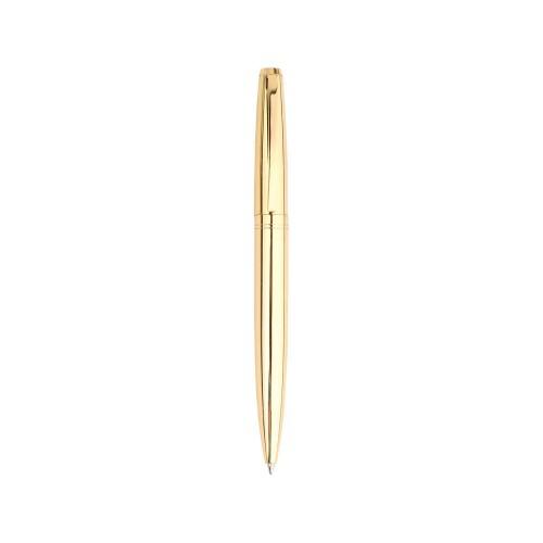 Ручка шариковая Ориентал золотистая