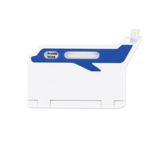 Бирка для багажа Hop, белый/синий