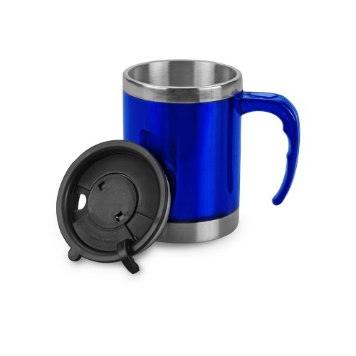 Кружка с термоизоляцией Эвбея, синий (Р)